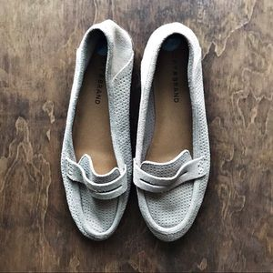 Lucky Brand NWOT Gray Loafers